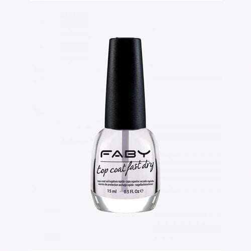 Image of faby fast drying top coat