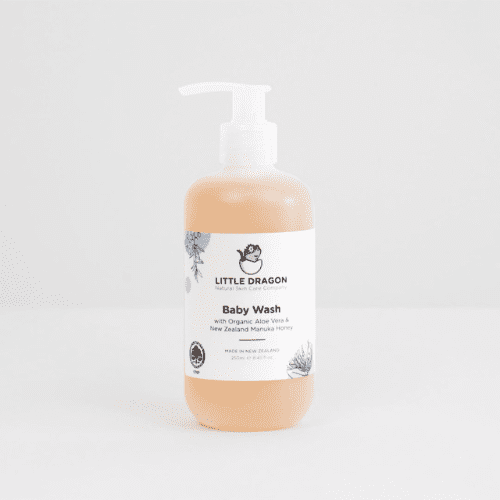 Image of a baby wash pump bottle
