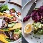 Banner Image of two healthy looking meals