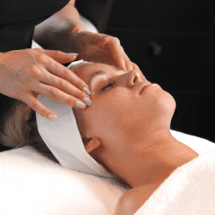 Image of a woman having a Fresh Start Facial