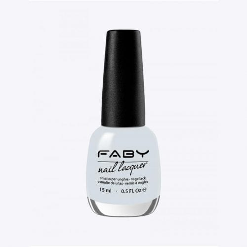 Image of a light pale blue nail lacquer