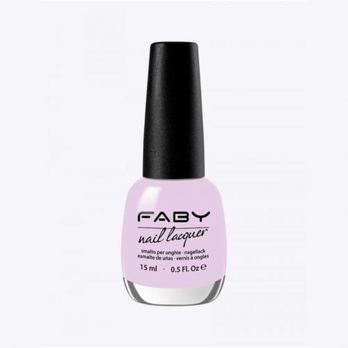 Image of a light pink purple nail lacquer