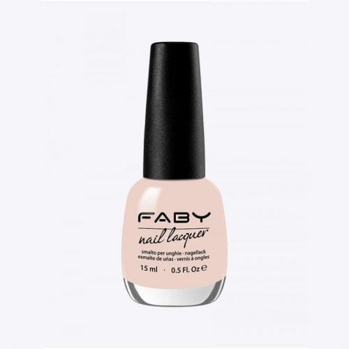Image of a yellow beige nail lacquer