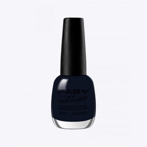 Image of a dark blue nail lacquer