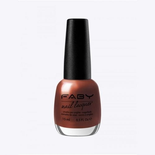 Image of a red orange shimmer nail lacquer