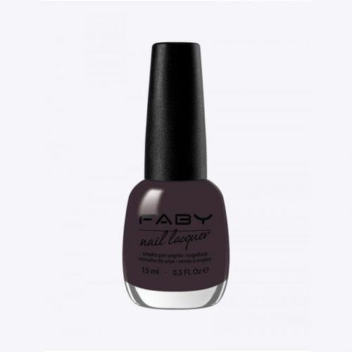 Image of a dark purple nail lacquer