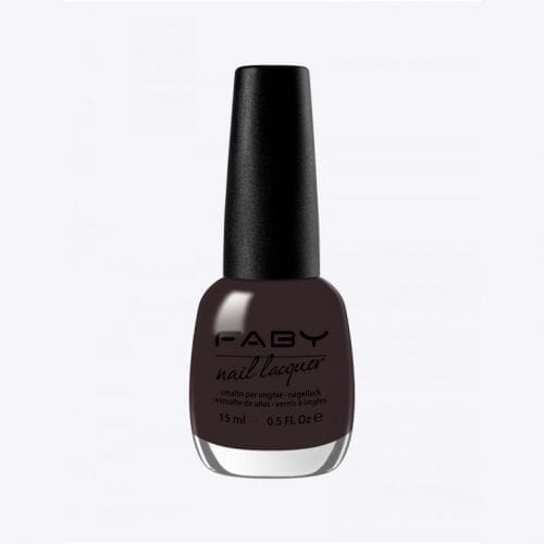 Image of a dark wine red nail lacquer