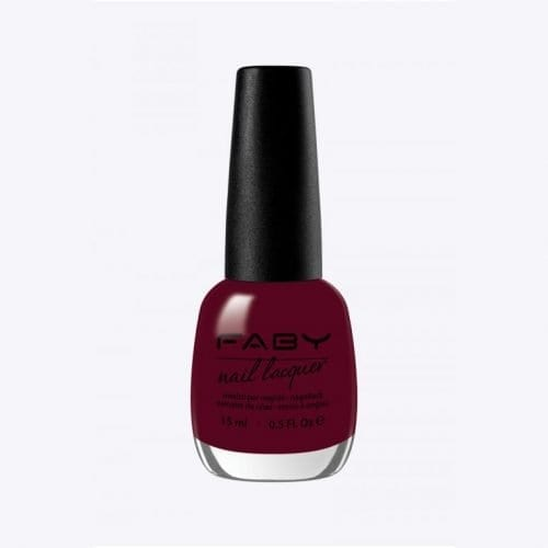 Image of a wine red nail lacquer