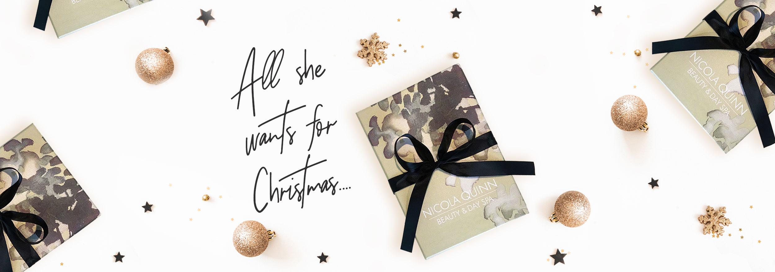nicola quinn spa gift voucher