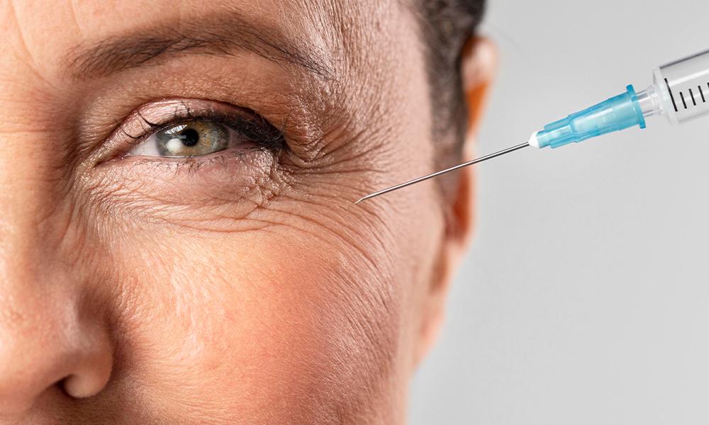 woman having botox at nicola quinn