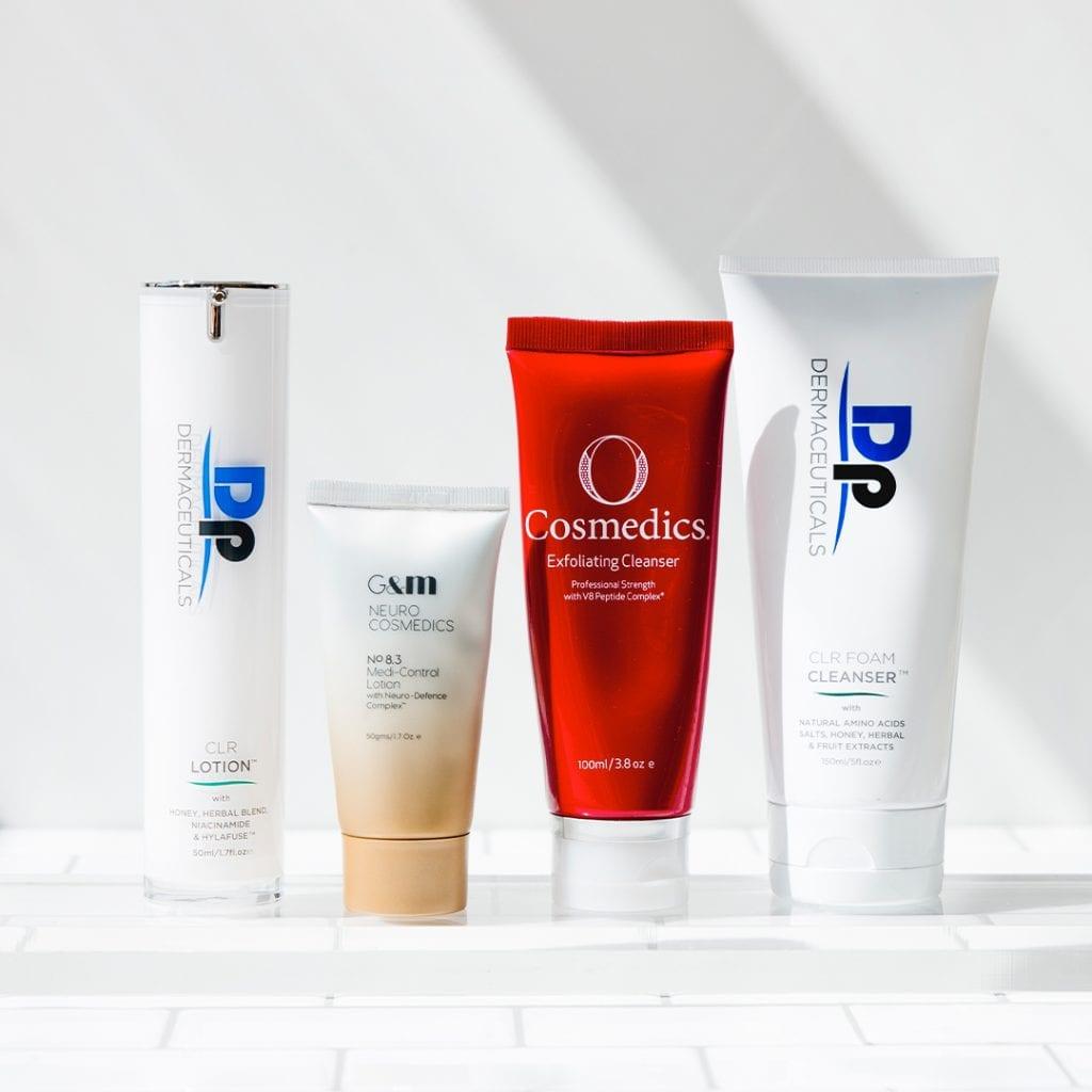 Leading skincare brands